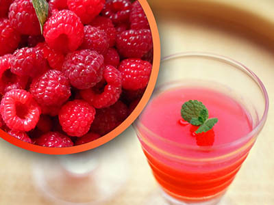 rapeberry juice