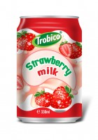 10 Trobico Strawberry milk alu can 330ml