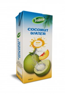 1000ml coconut water peach Flavour