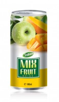 180ml Mix fruit drink alu can