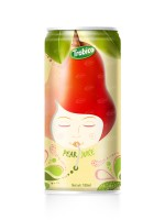 180ml Aluminum  can Natural Pear Fruit Juice Drink