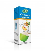 200ml Peach Flavour Coconut Water