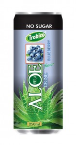 250ml Aloe vera Blueberry