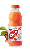 250ml Chia Seed Apple Flavour Glass bottle