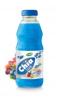 250ml Chia Seed Mix Fruit Flavour Glass bottle