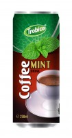 250ml Coffee mint drink alu can
