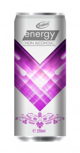 250ml Energy Drink without Alcoholic