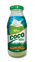 250ml Glass Bottle Coconut Water