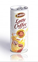 250ml Latte Coffee drink alu can