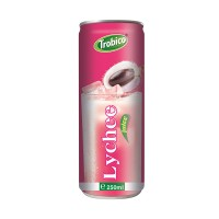 250ml Canned Natural Lychee Fruit Drink