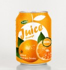 250ml Canned Natural Orange Fruit Juice
