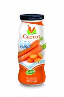 300ml Glass bottle High Quality Healthy Eyes Carrot Juice Drink