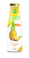 300ml Glass bottle Pineapple Juice