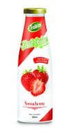 300ml Glass bottle Strawberry Juice