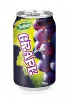 330ml Grape drink alu can