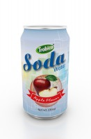 330ml apple flavor soda water