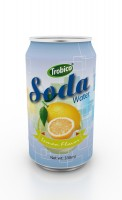 330ml lemon flavor soda water (2)