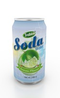 330ml lemon flavor soda water