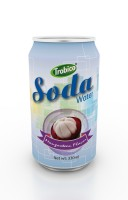 330ml mangosteen flavor soda water