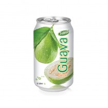330ml Aluminum can High Quality Pure Guava Fruit Drink