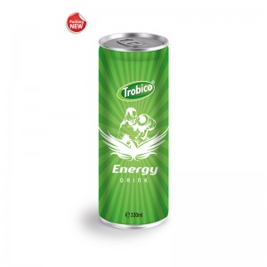 330ml Aluminum can High Quanlity Energy Drink