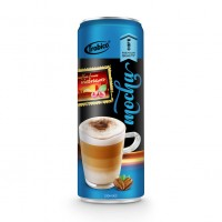 330ml Premium Quality Mocha Coffee Drink in can by Trobico Beverage Vietnam