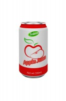 330ml alu can Apple Juice Drink