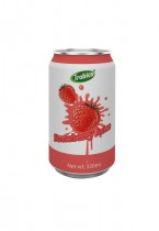 330ml alu can Strawberry Juice Drink 1