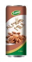 350ml Almond milk Alu can