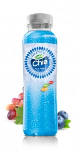 350ml Chia Seed Mix Fruit Flavour Pet bottle