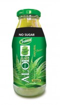 519 Trobico aloe vera natural flavor glass bottle 250ml