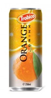 520 Trobico Orange drink alu can 250ml