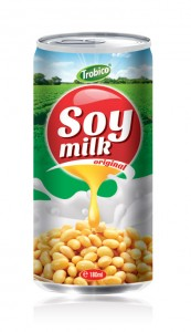 533 Trobico soy milk original alu can 180ml