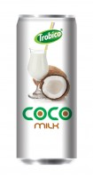 534 Trobico coco milk alu can 250ml