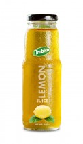 537 Trobico Lemom juice glass bottle 250ml