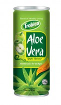 575 Trobico Aloe vera apple flavor alu can 250ml