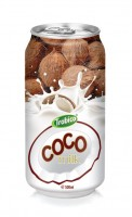 584 Trobico Coco milk alu can 500ml