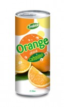 669 Trobico Carbonated orange drink alu can 250ml