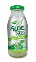 672 Trobico Aloe vera low sugar glass bottle 250ml
