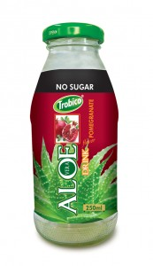 690 Trobico Aloe vera pomegranate flavor glass bottle 250ml