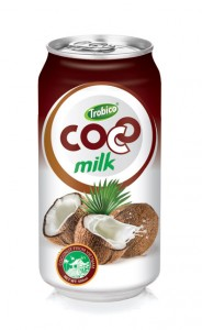 703 Trobico Coconut milk alu can 500ml
