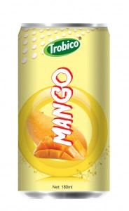 706 Trobico Mango juice alu can 180ml