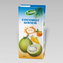 Coconut water with orange 1000ml