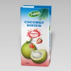 Coconut water with strawberry 1000ml