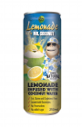 Coconut water with lemon