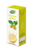 Lemon juice 200ml tetra pak