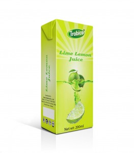 Lime lemon 200ml tetra pak