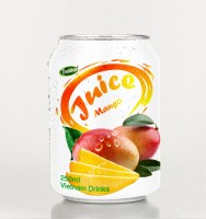 Mango juice drink 250ml short can 2