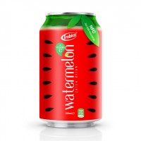 NFC Manufacturer Beverage 330ml Canned Watermelon Fruit Drink