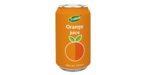 Natural orange juice drink 330ml